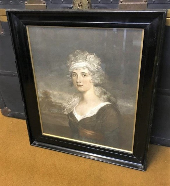 Victorian Print Portrait of a Lady