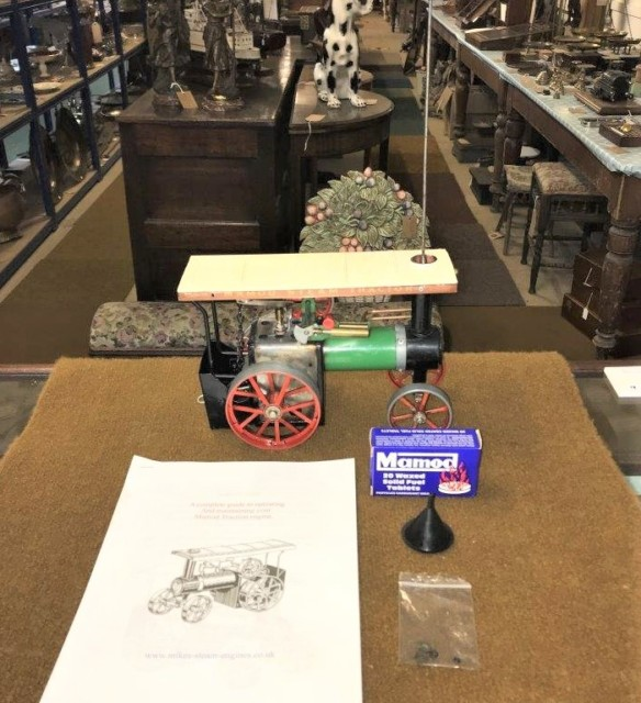 Vintage Mamod Model TE1A Steam Traction Engine