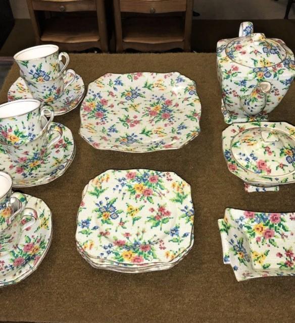 Early Royal Winton Grimwades Tea Set