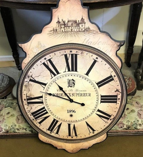 Bordeaux Superieur Wall Clock