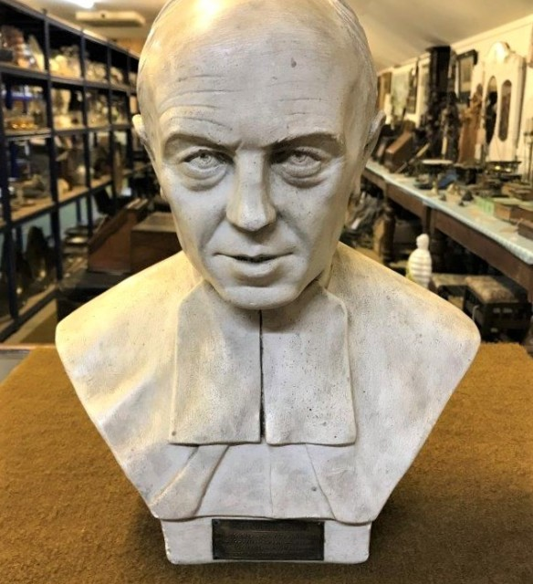 Plaster Bust of Frere Mutien-Marie