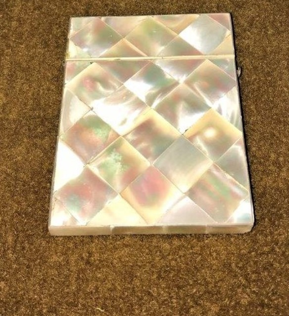 Mother of Pearl Card Holder