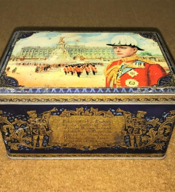 Edward VIII Accession to the Throne 1936 Tea Caddy