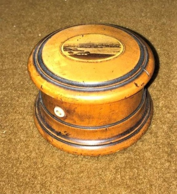 Mauchline Ware Thread Box
