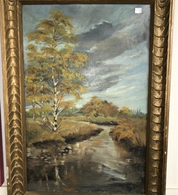Oil Painting H Marko 1945