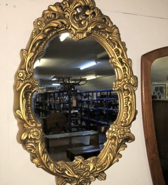 Vintage Gilt Frame Wall Mirror