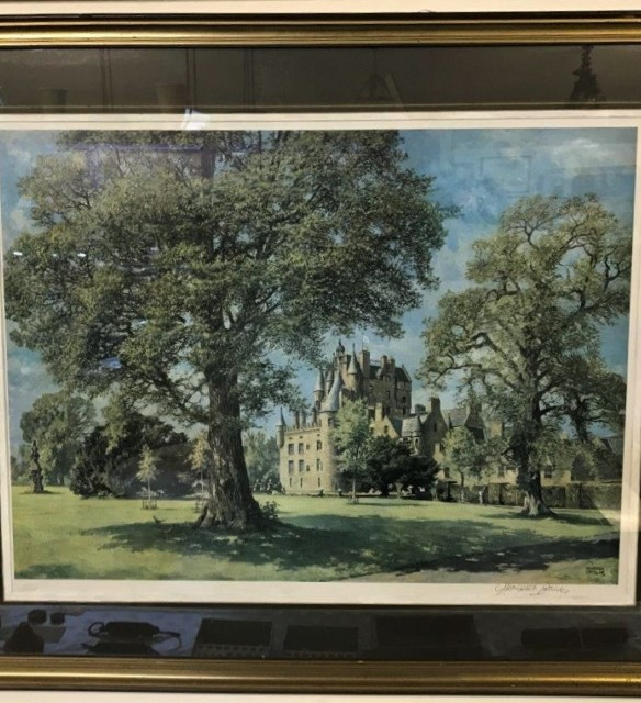 "James McIntosh Patrick Print ""Glamis Castle"""