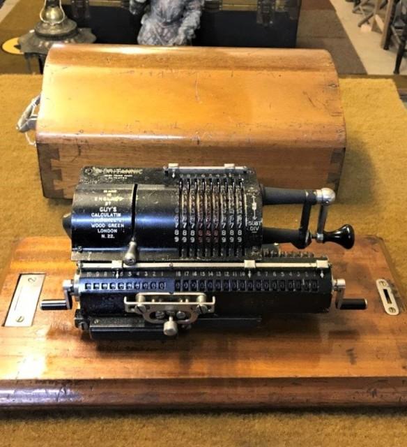 Guy's Britannic Model 2A Odhner Pinwheel Calculator