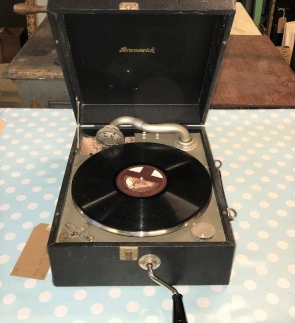 Brunswick Portable Record Player
