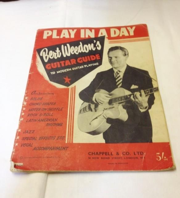 Bert Weedon Guitar Guide