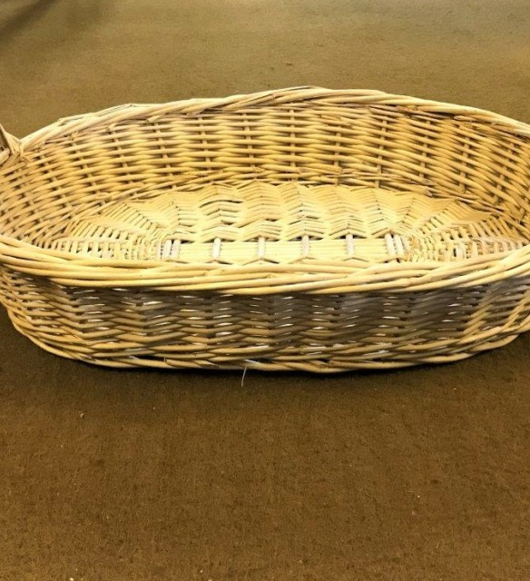 Small Oval Wicker Basket