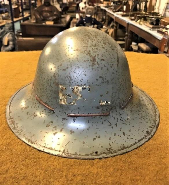 WW2 Steel Brodie Helmet with Liner