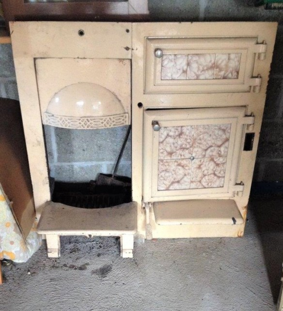 Edwardian Fireplace / Cooking Range