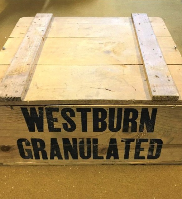 Vintage Tate & Lyle Westburn Granulated Sugar Crate