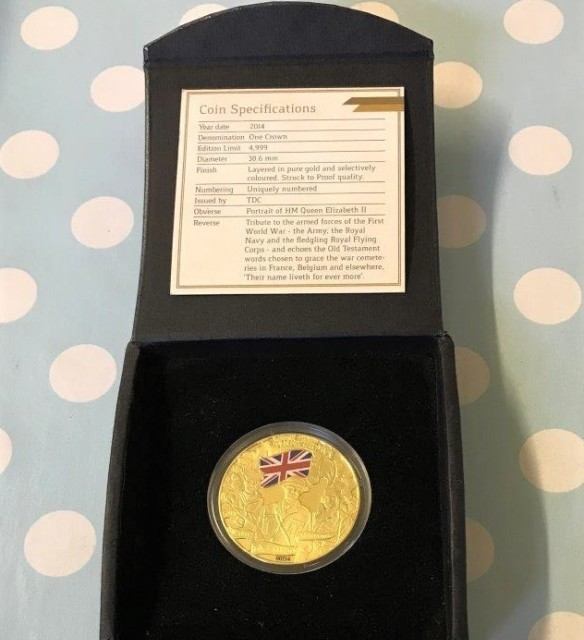 WW1 Centenary Coin
