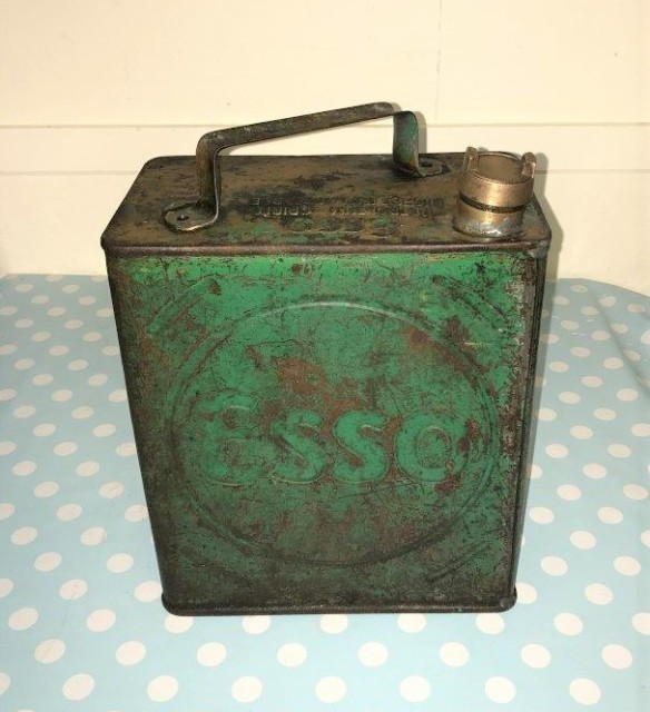 ESSO 2 Gallon Petrol Can