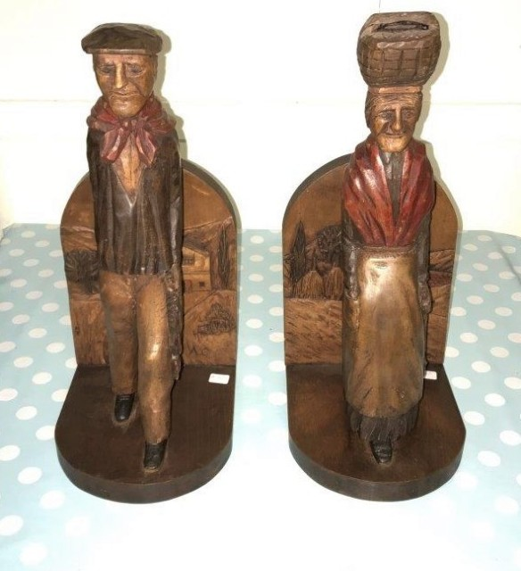 Pair of Carvings