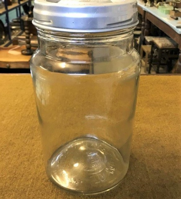 Vintage Aridor Counter Top Sweetie Jar