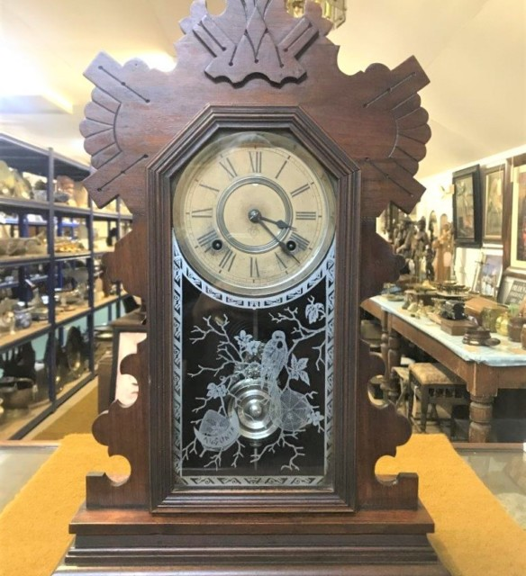 Ansonia Buffalo Mantle Clock