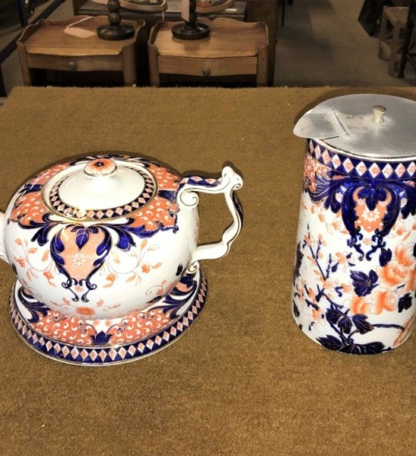 Imari Tea and Coffee Pot Set