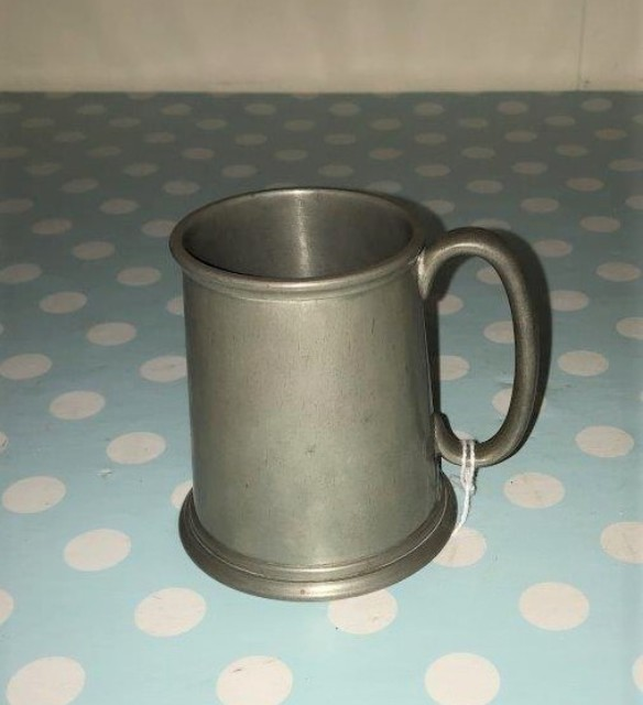 Cornish Pewter Tankard