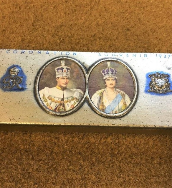 George VI Coronation Souvenir Chocolate Tin